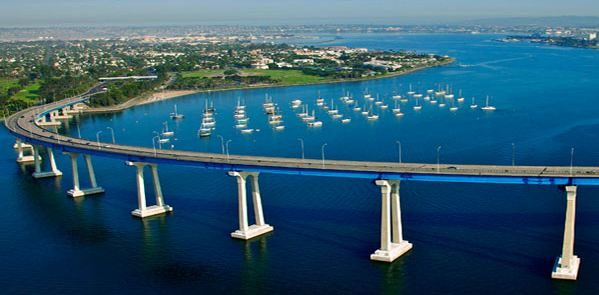 Image result for san diego coronado bridge