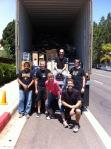 Container loading crew